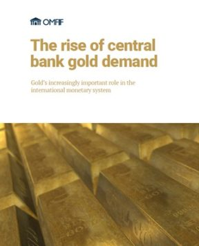 The rise of central bank gold demand