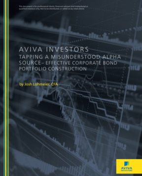 Tapping a misunderstood alpha source - Effective corporate bond portfolio construction