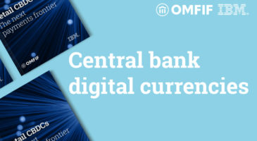 A central bank will issue a consumer-ready digital currency within five years