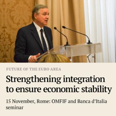 rome Future of the euro area meet box