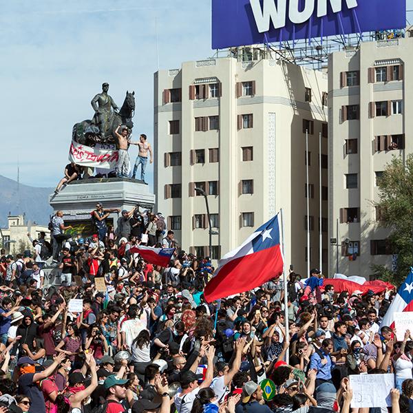 protest square