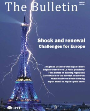 April 2017: Shock and renewal