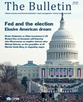 May 2016: Fed and the election