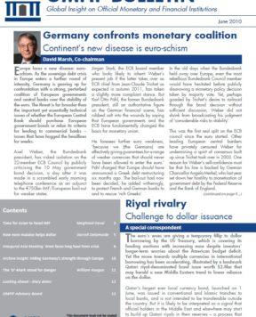 June 2010: Capping credibility losses