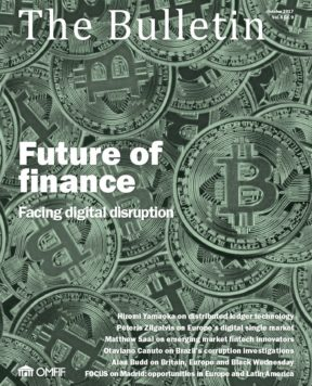 October 2017: Future of finance