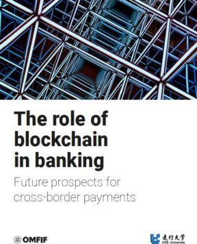 The role of blockchain in banking