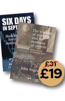 Black Friday Bundle: Six Days in September + The wisdom of markets and the madness of crowds