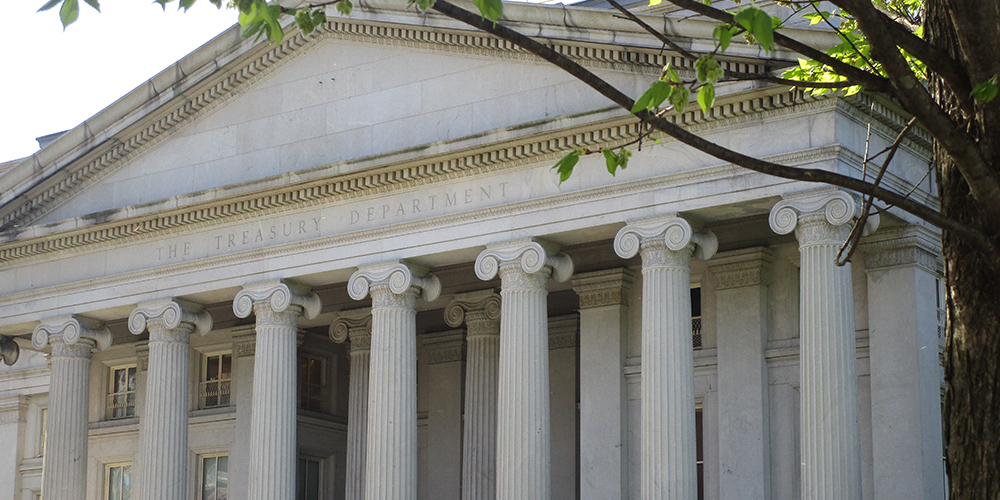 US treasury close up newweb