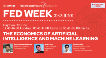 Fed week: The economics of artificial intelligence and machine learning