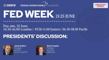 Fed week: Presidents' discussion, Macroeconomic outlook, nationally and locally
