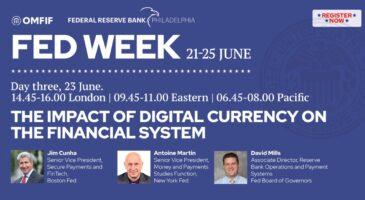 Fed week: The impact of digital currency on the financial system