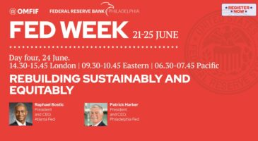 Fed week: Rebuilding sustainably and equitably