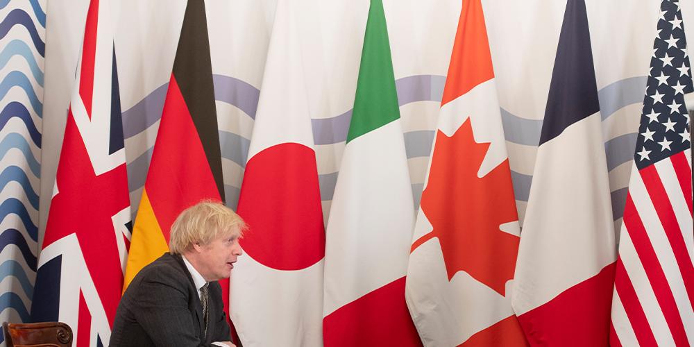 G7 (SINGLE USE EDITORIAL IMAGE)