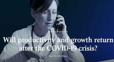 Will productivity and growth return after the COVID-19 crisis?