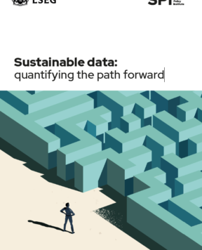 Sustainable data: quantifying the path forward